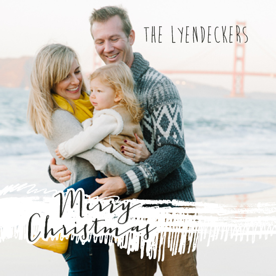 holiday photo cards - Scribbles by Mary Highstreet