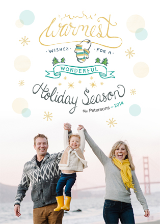 holiday photo cards - Warmest Holiday Season by Lisa M