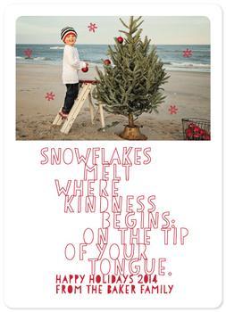 Snowflakes Melt