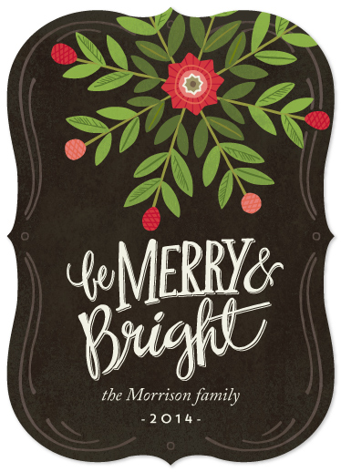 non-photo holiday cards - Star Bright by Griffinbell Paper Co.