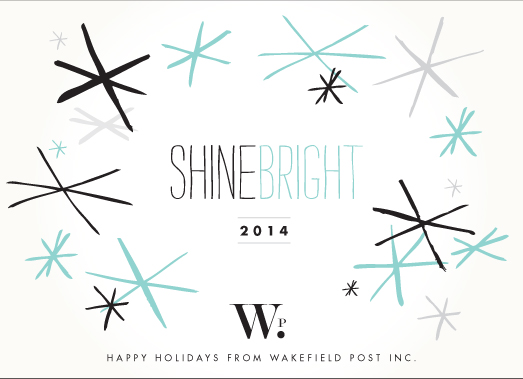 business holiday cards - shine through by trbdesign