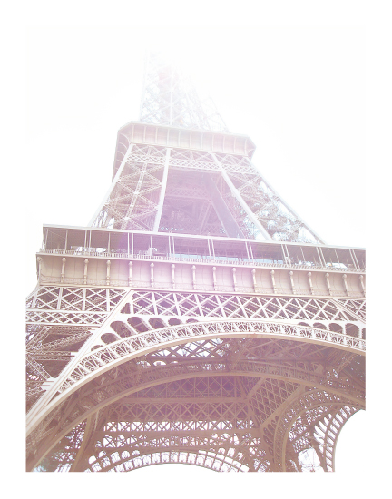art prints - Spring Sunshine at the Eiffel Tower by Sharon Rowan