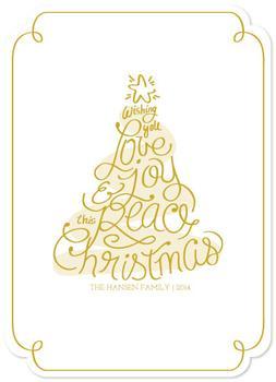 Love Joy Peace Tree