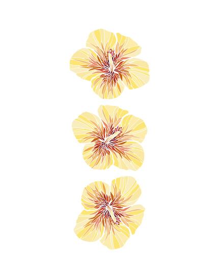 art prints - Yellow Hibiscus by La Rue Pulido