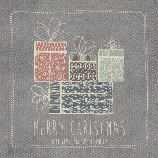 non-photo holiday cards - Pretty Gifts by Maike Thoma