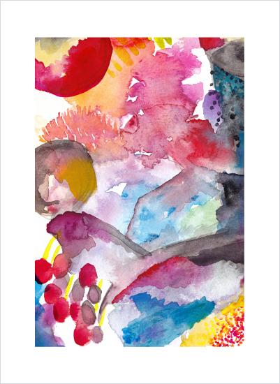 art prints - Sea Garden by Hooray Creative