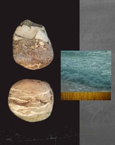 Rocks & The Sea l-Diptych