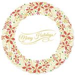 Holiday Wreath by La Rue Pulido