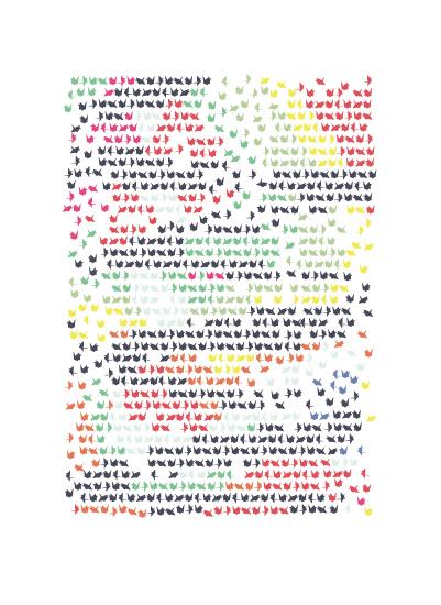 art prints - 1000 Cranes by Katie Zimpel