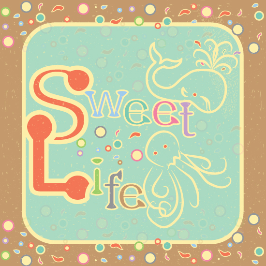 art prints - A Sweet Life by Famenxt