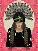 A Tribal Beauty by Famenxt