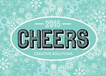 cheers & snowflakes