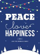 Peace, Love and Happine... by Jelly Design