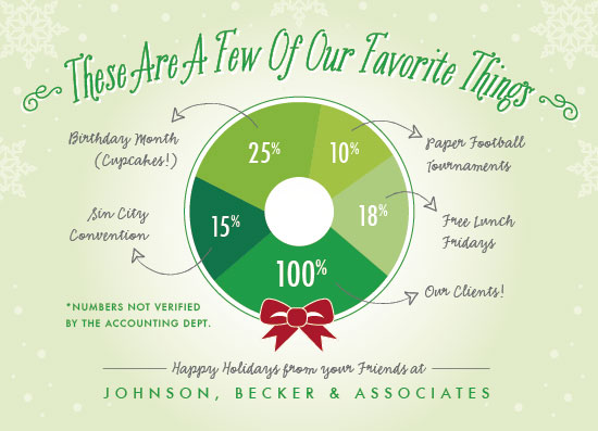 business holiday cards - Favorite Things Wreath by Beth Schneider