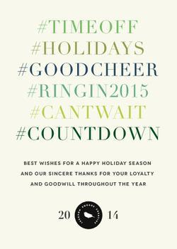 Holiday Hashtag