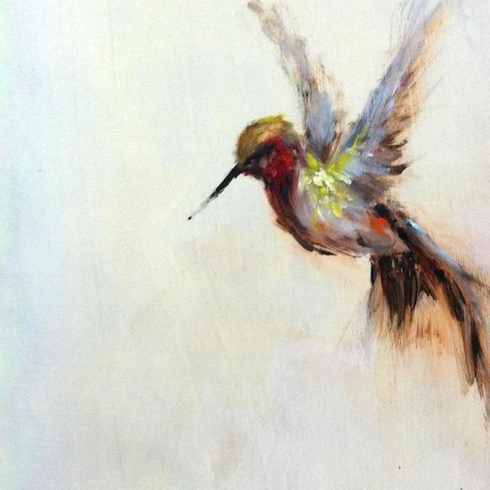art prints - the humble hummingbird by Amanda Faubus