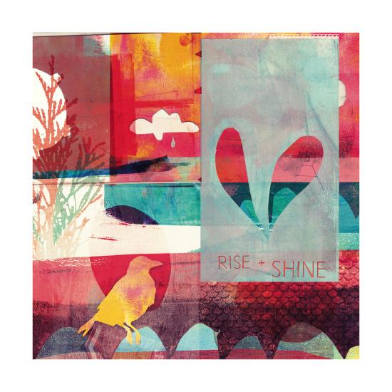 art prints - rise + shine by barbara chotiner