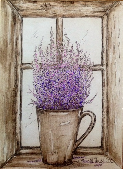 art prints - Heather in a pot by Marta