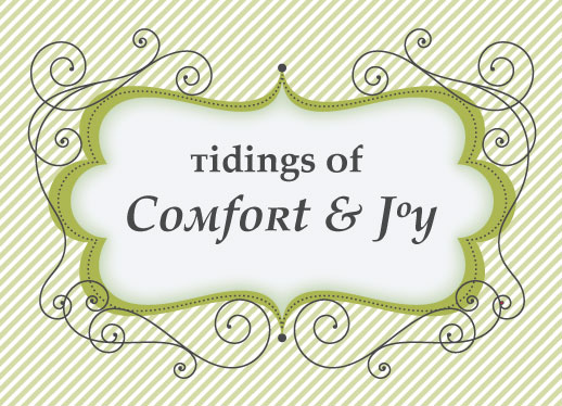 business holiday cards - Tidings of Comfort and Joy by Cavell Ferguson
