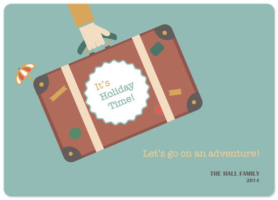 non-photo holiday cards - Your vacation awaits! by Siutaam