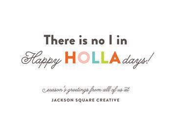 Happy HOLLAdays