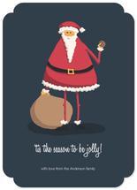Jolly Santa by Mackenzie Gillett