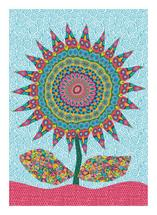 Fabby Sunflower by Mary Tanana