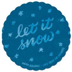 Handwritten Snow Globe
