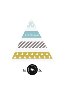 Deck the halls washi tapes