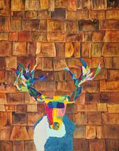 Shingle Moose by ALINA WELCH
