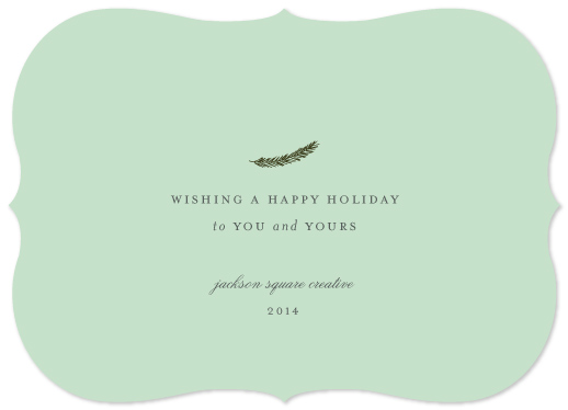 business holiday cards - minimalist greetings by Sara Hicks Malone