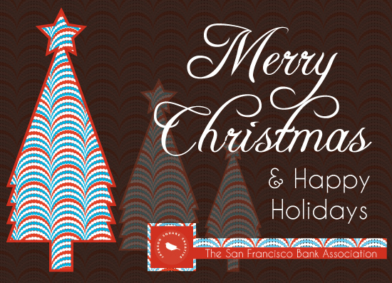 business holiday cards - A Christmas and Holidays Greetings by Famenxt