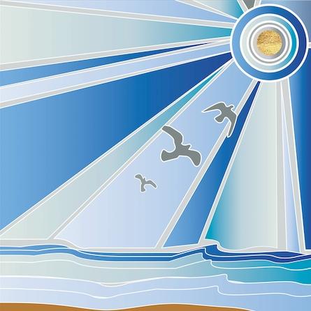 art prints - Ocean Bliss by Denise Troy