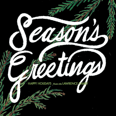 non-photo holiday cards - Season's Greetings Pine Boughs by Alex Endsley