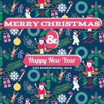 A Joyful Christmas Card by Famenxt