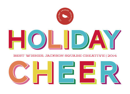 business holiday cards - Cheery by Erika Firm