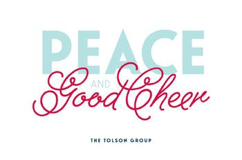 Peace and Good Cheer