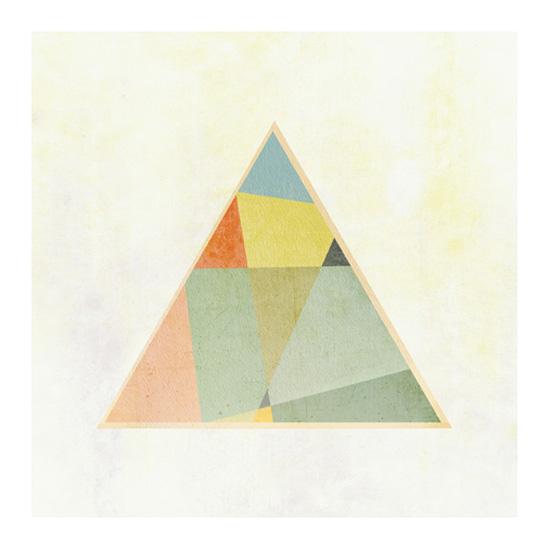 art prints - Tessellate Triptych 3 by Amy Moen
