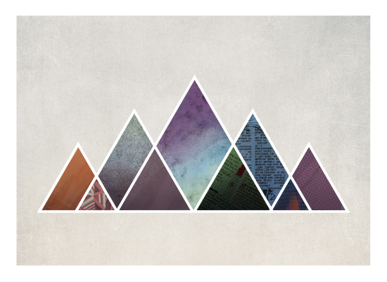art prints - Five Peaks by Matt Raufman