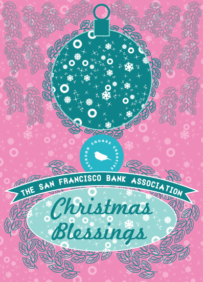 business holiday cards - Christmas Blessings by Famenxt