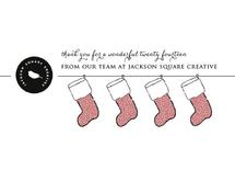 the stockings were hung by Megan Spinder