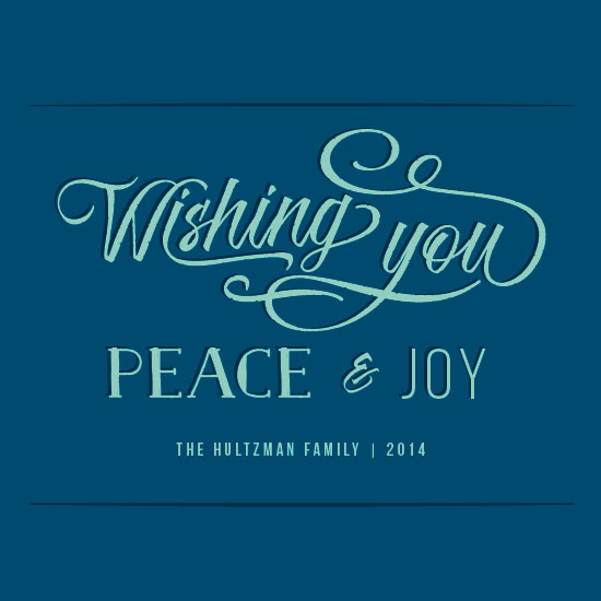 business holiday cards - Mod Wishes by Rachel Buchholz