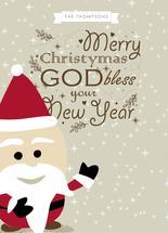 Santa Holiday by Ligia Kuhn
