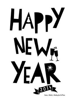Paper Cut New Year