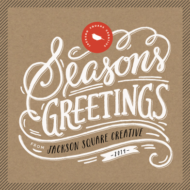 business holiday cards - Seasons Greetings by Griffinbell Paper Co.