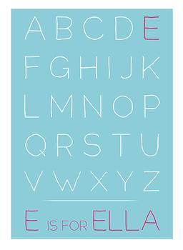 First Initial Alphabet