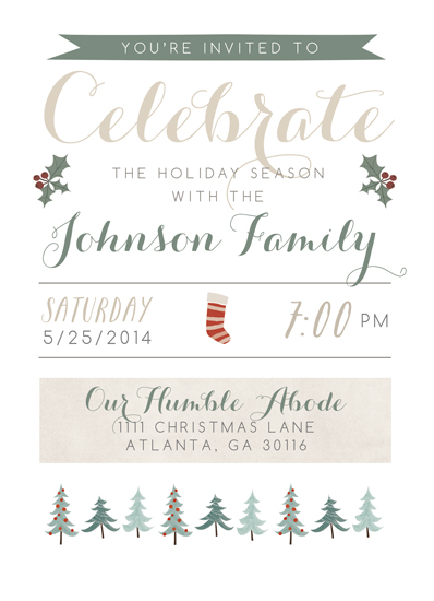 party invitations - Rustic Woodland Affair by Yellow Door Creative