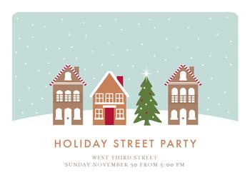 Holiday Street Party