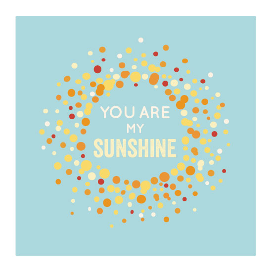 art prints - you are my sunshine by youmewheee