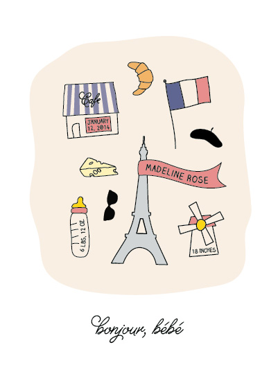 art prints - Petit Paris by Becca Thongkham